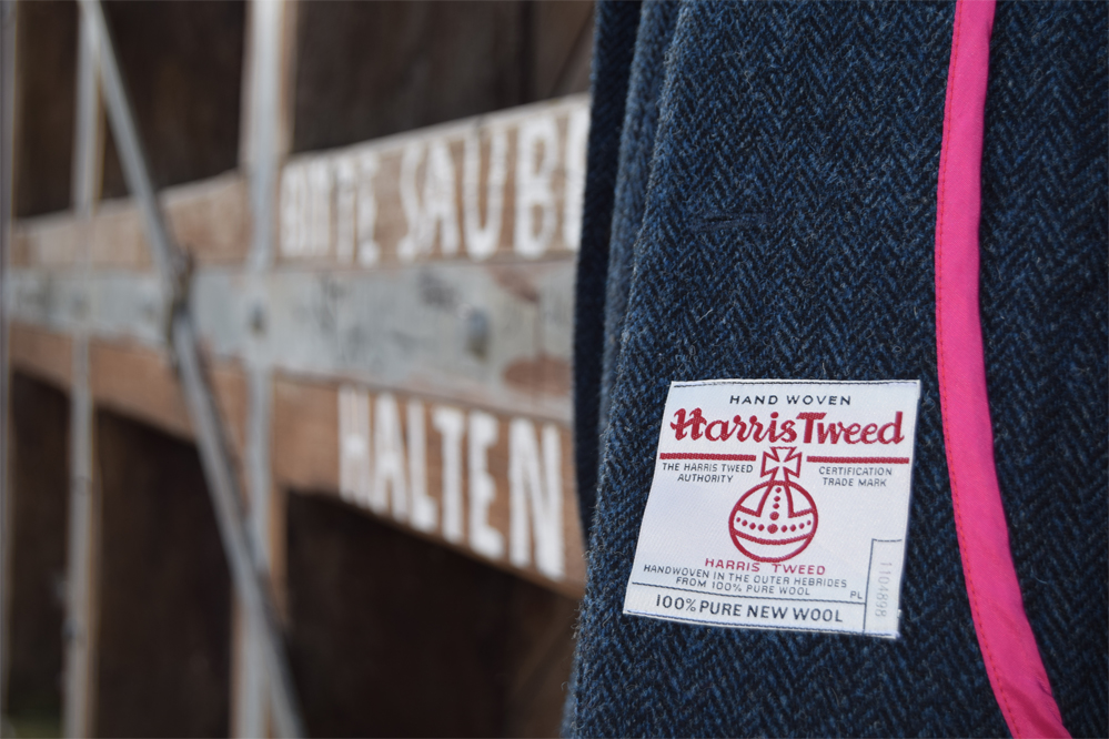 Haremer Jacket Merchant and Mills schneidernmeistern Harris Tweed
